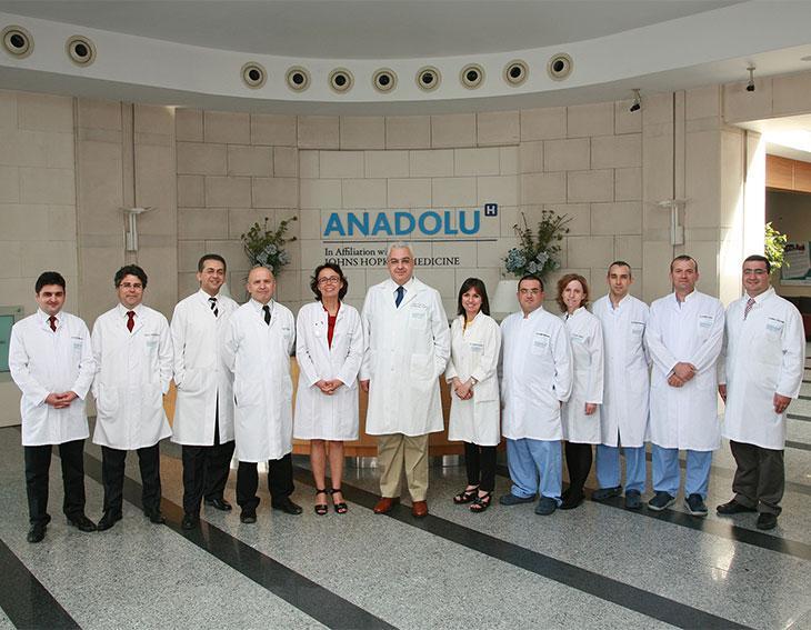 топ-10 в света Анадолу Медицински Център